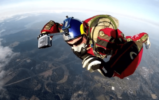 This guy is going to jump from 25,000 feet without a parachute (Picture Luke Aikins Youtube)