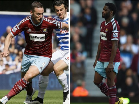 'Alex Song and Kevin Nolan set for exit' as West Ham prepare for busy summer transfer period