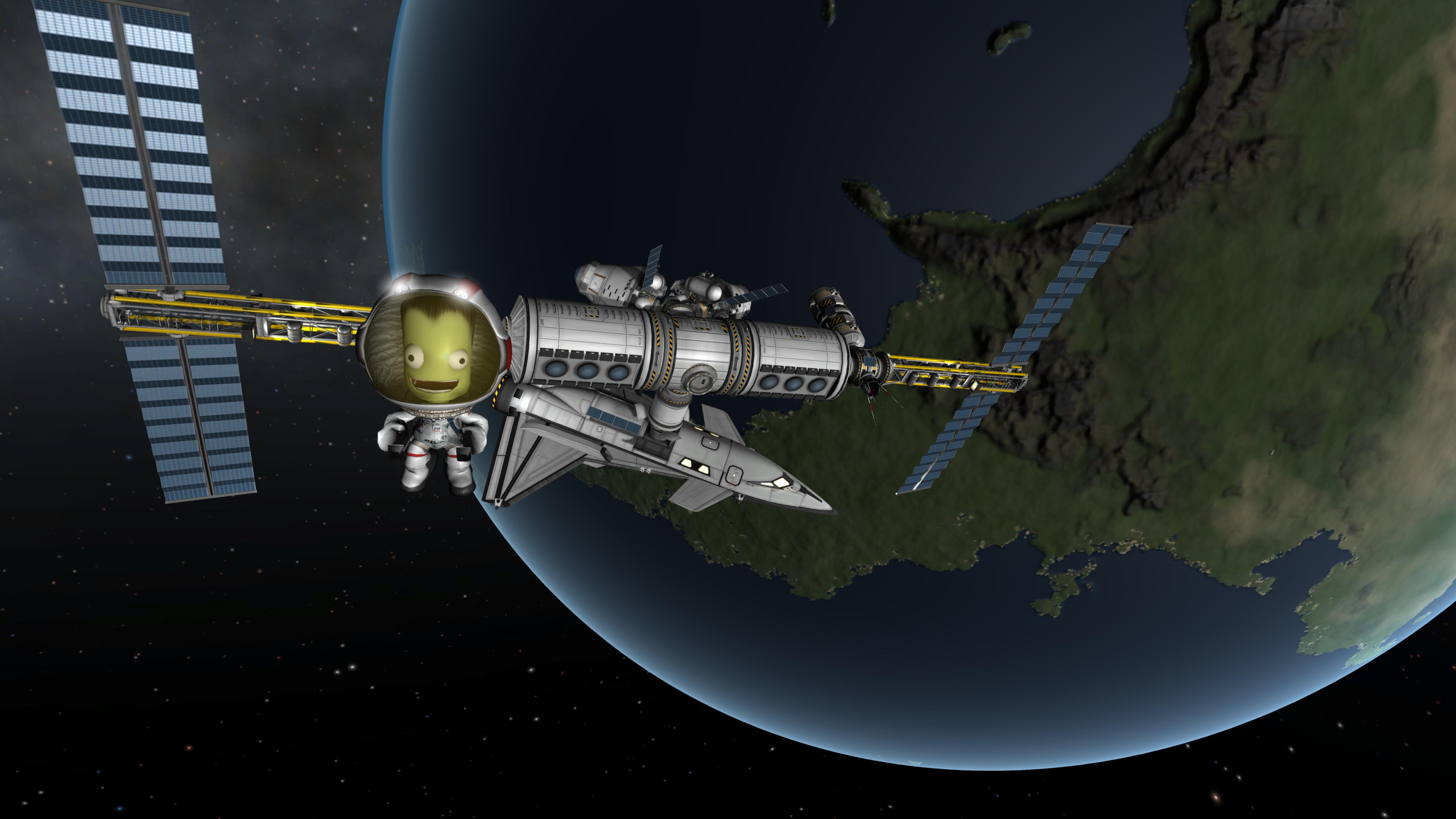 Kerbal Space Program (PC) - nice and safe attitude