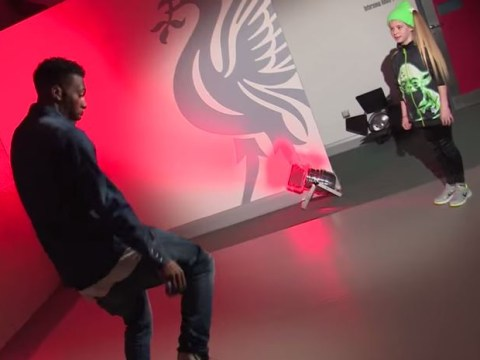 Watch Liverpool striker Daniel Sturridge get owned in dance-off with talented young girl