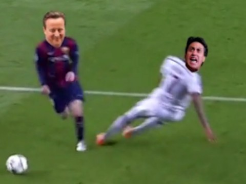 This Lionel Messi vine brilliantly sums up David Cameron's general election win over Ed Miliband, Nigel Farage and Nick Clegg