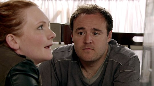 FROM ITV STRICT EMBARGO -TV Listings Magazines & websites Tuesday 16 June 2015, Newspapers Saturday 20 June 2015  Coroantion Street - Ep 8666 Monday 22 June 2015 - 1st Ep Fiz and Tyrone sense Cathy might be starting to see Roy as more than a friend, as she pretends her fridge is broken so she can dine at the cafe. Picture contact: david.crook@itv.com on 0161 952 6214 This photograph is (C) ITV Plc and can only be reproduced for editorial purposes directly in connection with the programme or event mentioned above, or ITV plc. Once made available by ITV plc Picture Desk, this photograph can be reproduced once only up until the transmission [TX] date and no reproduction fee will be charged. Any subsequent usage may incur a fee. This photograph must not be manipulated [excluding basic cropping] in a manner which alters the visual appearance of the person photographed deemed detrimental or inappropriate by ITV plc Picture Desk. This photograph must not be syndicated to any other company, publication or website, or permanently archived, without the express written permission of ITV Plc Picture Desk. Full Terms and conditions are available on the website www.itvpictures.com