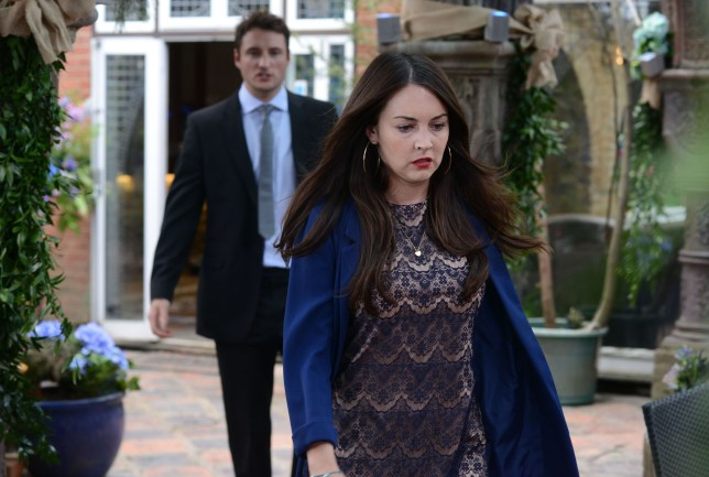 WARNING: Embargoed for publication until 30/06/2015 - Programme Name: EastEnders - TX: 07/07/2015 - Episode: 5098 (No. n/a) - Picture Shows: Stacey heads back to Jean's house, determined to find out what the key unlocks. Martin Fowler (JAMES BYE), Stacey Branning (LACEY TURNER) - (C) BBC - Photographer: Kieron McCarron