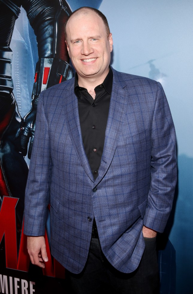 "LOS ANGELES, CA - JUNE 29:  Producer Kevin Feige attends the world premiere of Marvel's ""Ant-Man"" at The Dolby Theatre on June 29, 2015 in Los Angeles, California.  (Photo by Jesse Grant/Getty Images for Disney)"