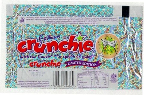Image result for crunchie bubbly