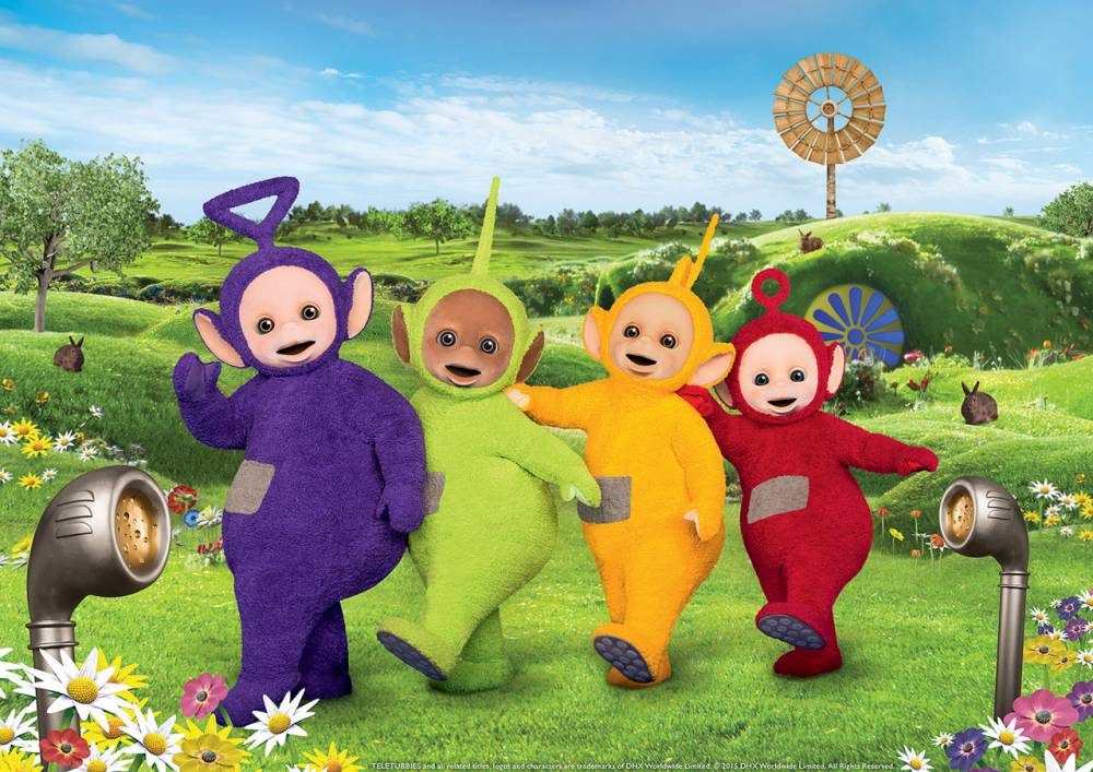 "Embargoed to 0001 Wednesday June 3 Undated handout photo issued by DHX Worldwide Limited of the new Teletubbies, which have been revealed as the classic show is returning, almost 20 years after Tinky Winky, Dipsy, Laa-Laa and Po made their debut. PRESS ASSOCIATION Photo. Issue date: Wednesday June 3, 2015. Now the creatures - famous for their Eh-oh! catchphrase - still have antennas on their heads but the TV screens have been replaced by ""21st century touch screen tummies"". See PA story SHOWBIZ Teletubbies. Photo credit should read: DHX Worldwide Limited/PA Wire NOTE TO EDITORS: This handout photo may only be used in for editorial reporting purposes for the contemporaneous illustration of events, things or the people in the image or facts mentioned in the caption. Reuse of the picture may require further permission from the copyright holder."