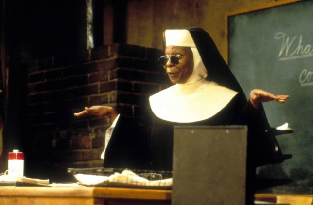 No Merchandising. Editorial Use Only. No Book Cover Usage... Mandatory Credit: Photo by Moviestore/REX_Shutterstock (1613108a).. Sister Act 2: Back In The Habit,  Whoopi Goldberg.. Film and Television.. ..