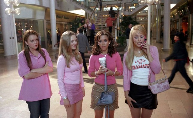 No Merchandising. Editorial Use Only. No Book Cover Usage. Mandatory Credit: Photo by Moviestore/REX_Shutterstock (1577156a) Mean Girls, Lindsay Lohan, Amanda Seyfried, Lacey Chabert, Rachel Mcadams Film and Television