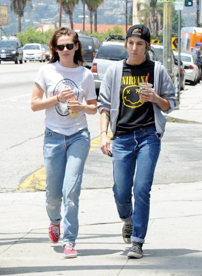 Actress Kristen Stewart and Alicia Cargile takes a long stroll back to their car after having at trendy Silverlake area in Los Angeles. Featuring: Kristen Stewart, Alicia Cargile Where: Los Angeles, California, United States When: 06 Jun 2015 Credit: Cousart/JFXimages/WENN.com