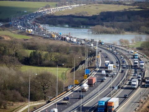 These are the stretches of motorway where you're most likely to find middle lane hoggers