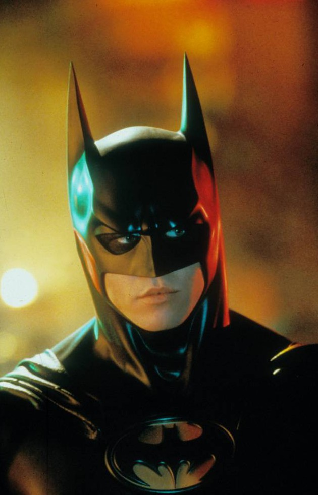 No Merchandising. Editorial Use Only. No Book Cover Usage.  Mandatory Credit: Photo by Moviestore/REX_Shutterstock (1537915a)  Batman Forever,  Val Kilmer  Film and Television