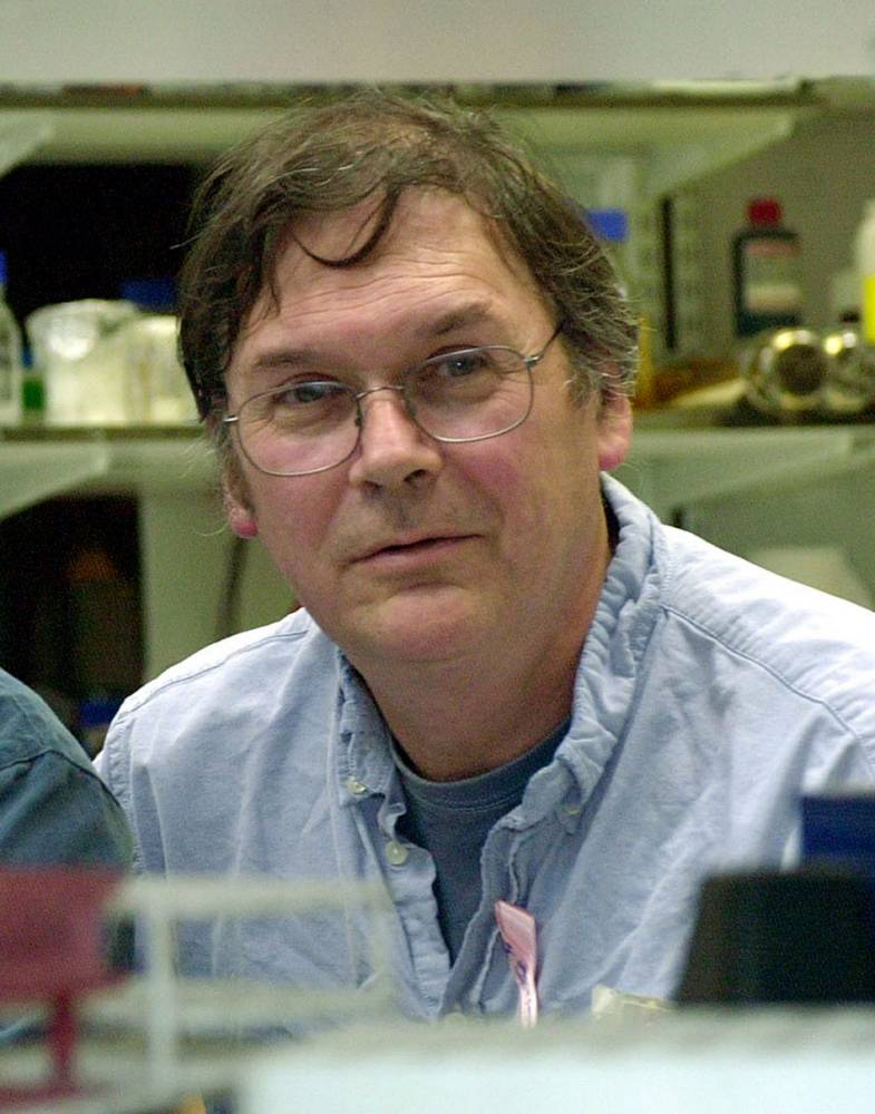 "File photo dated 08/10/01 of Sir Tim Hunt, who has resigned from University College London (UCL) after his comments about the ""trouble with girls"" involved in science sparked an outcry. PRESS ASSOCIATION Photo. Issue date: Thursday June 11, 2015. Sir Tim, who was awarded the Nobel prize in physiology or medicine in 2001, yesterday apologised for any offence caused by his remarks at the World Conference of Science Journalists in South Korea. See PA story SCIENCE Sexist. Photo credit should read: Johnny Green/PA Wire"