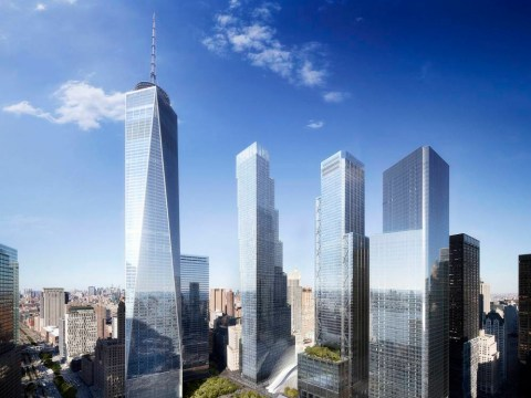 The design of the fourth and last World Trade Center tower is unveiled