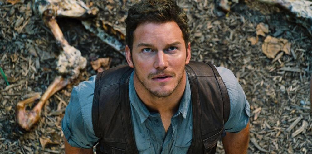 No Merchandising. Editorial Use Only. No Book Cover Usage  Mandatory Credit: Photo by Moviestore/REX Shutterstock (4313745d)  Chris Pratt  'Jurassic World' Film - 2015
