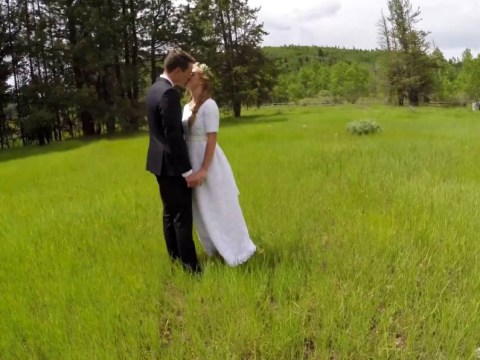 When filming a wedding video with a drone goes wrong