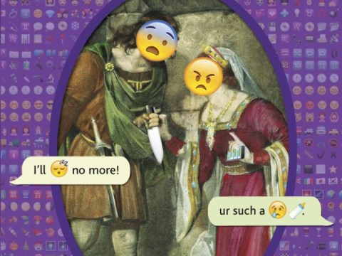 FFS! We can't tell if Shakespeare rewritten in emoji is the best or worst thing ever