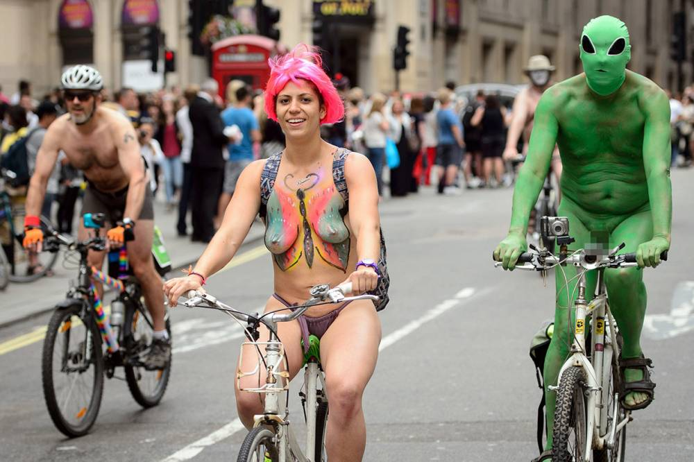 Hundreds of naked people will be protesting in London this weekend. Here's why