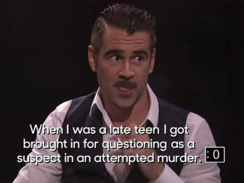 Colin Farrell admits he was a suspect in an attempted murder, freaks Vince Vaughn the hell out