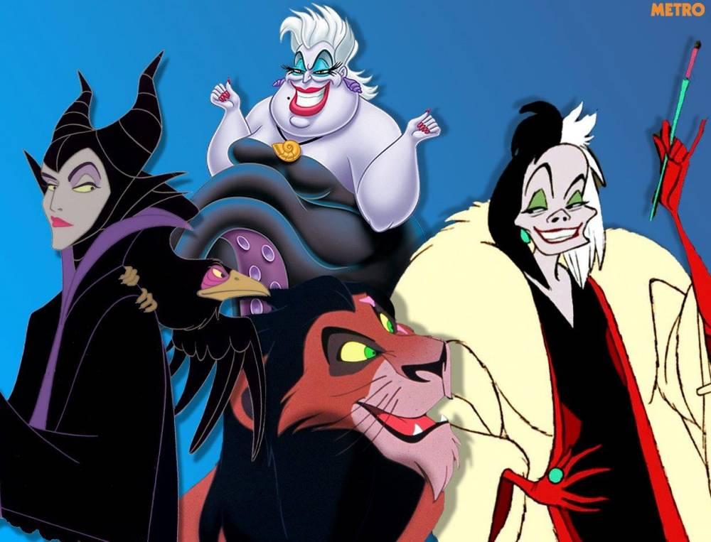 Disney Villains  source: Disney - AP