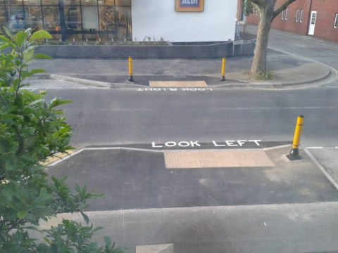 There's a mistake in this road sign – and it could prove fatal