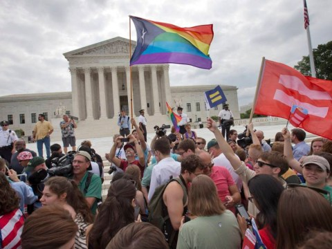 Gay marriage was legalised in the United States today and a lot of people are pretty happy about it