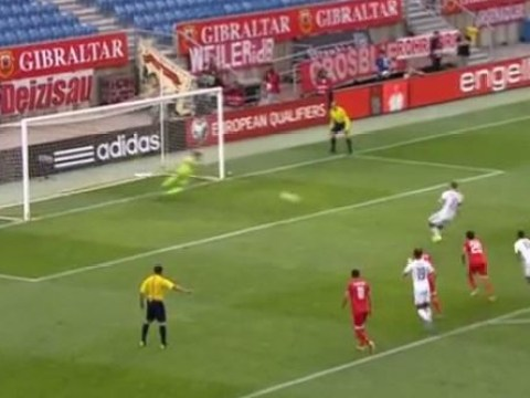Firefighter Jordan Perez gives goalkeeping masterclass for Gibraltar in 7-0 defeat to Germany