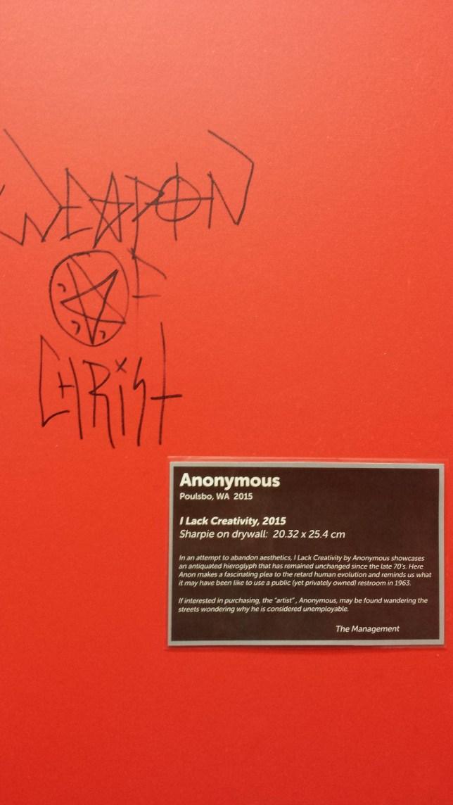 Vandal got schooled (Picture: Gotgamer456)