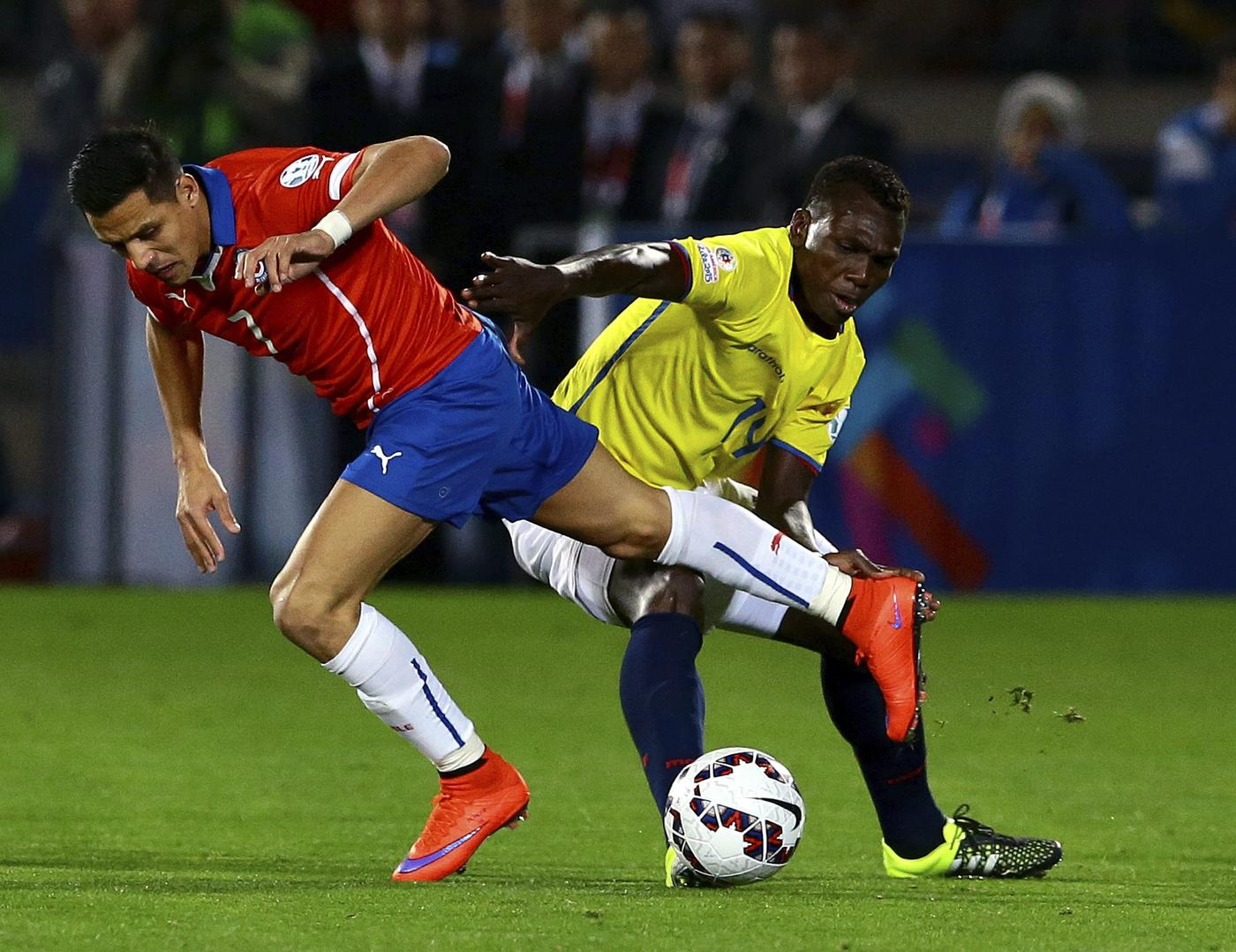 Arsenal hero Alexis Sanchez provides sublime assist as Chile get off to winning start at Copa America