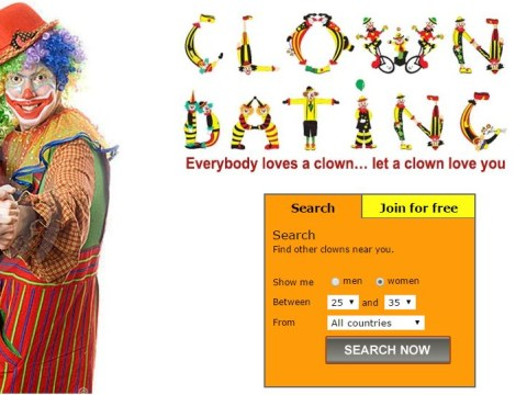 Clowndating.com is a real thing, because there's someone out there for everyone
