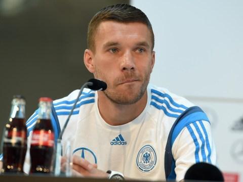 Lukas Podolski confirms he's heading back to Arsenal this transfer window