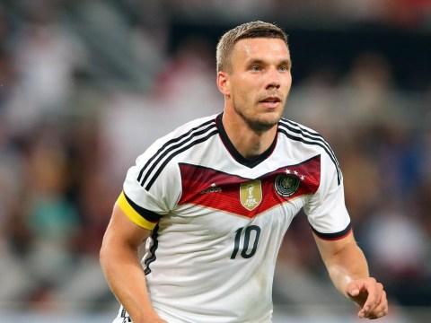 Everton 'plot transfer move for Arsenal forward Lukas Podolski'