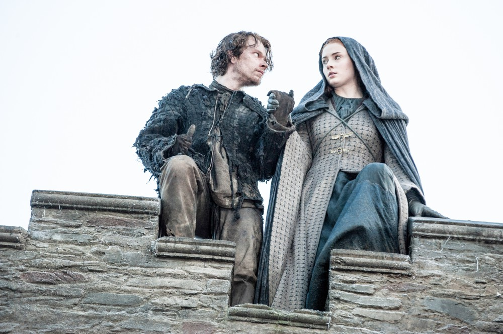 Game of Thrones, Series 5, Episode 10, Mother's Mercy, Theon and Sansa