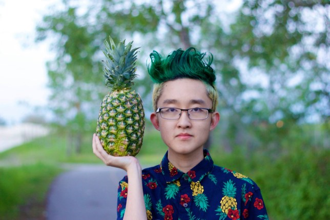 hansel34 pineapple hair