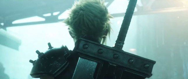 Final Fantasy VII remake - honestly, we're not making this up