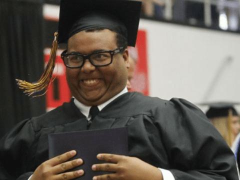 Guy posts graduation photo online; becomes internet celeb and meme overnight