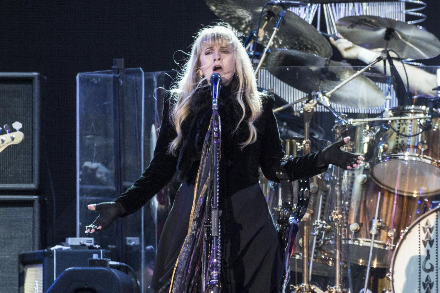 Everyone got very excited when Fleetwood Mac performed at the Isle of Wight Festival