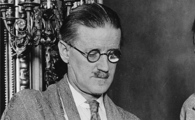 James Joyce (Picture: AP)