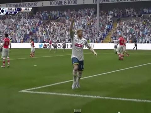 Harry Kane's best Tottenham goals of the 2014/15 season recreated on FIFA