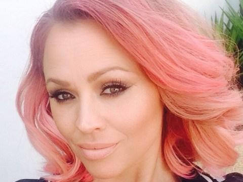 We're loving Kimberley Walsh's new pink hairdo