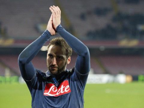 Arsenal leading transfer race for Gonzalo Higuain – report