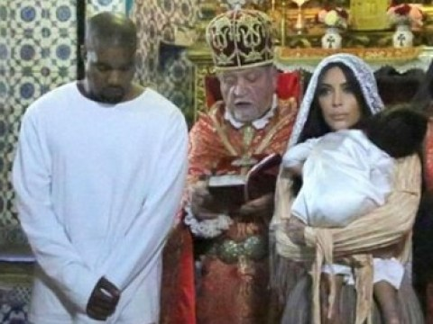 Take a peek inside North West's christening and be shocked