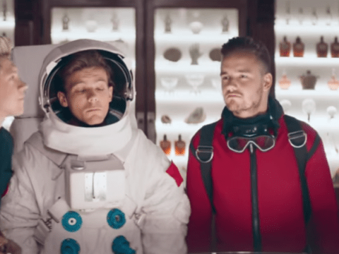 One Direction's new perfume advert is brilliantly ridiculous