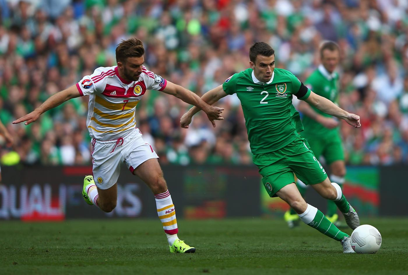 Is Everton's Seamus Coleman a Manchester United transfer target this summer?