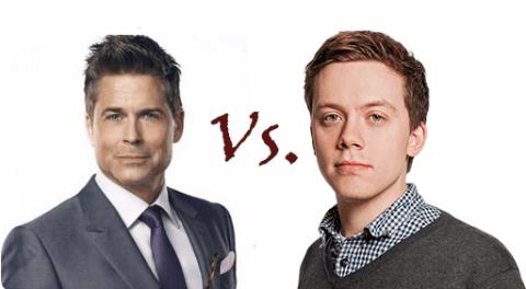 Rob Lowe vs. Owen Jones: The most random Twitter feud so far this year?