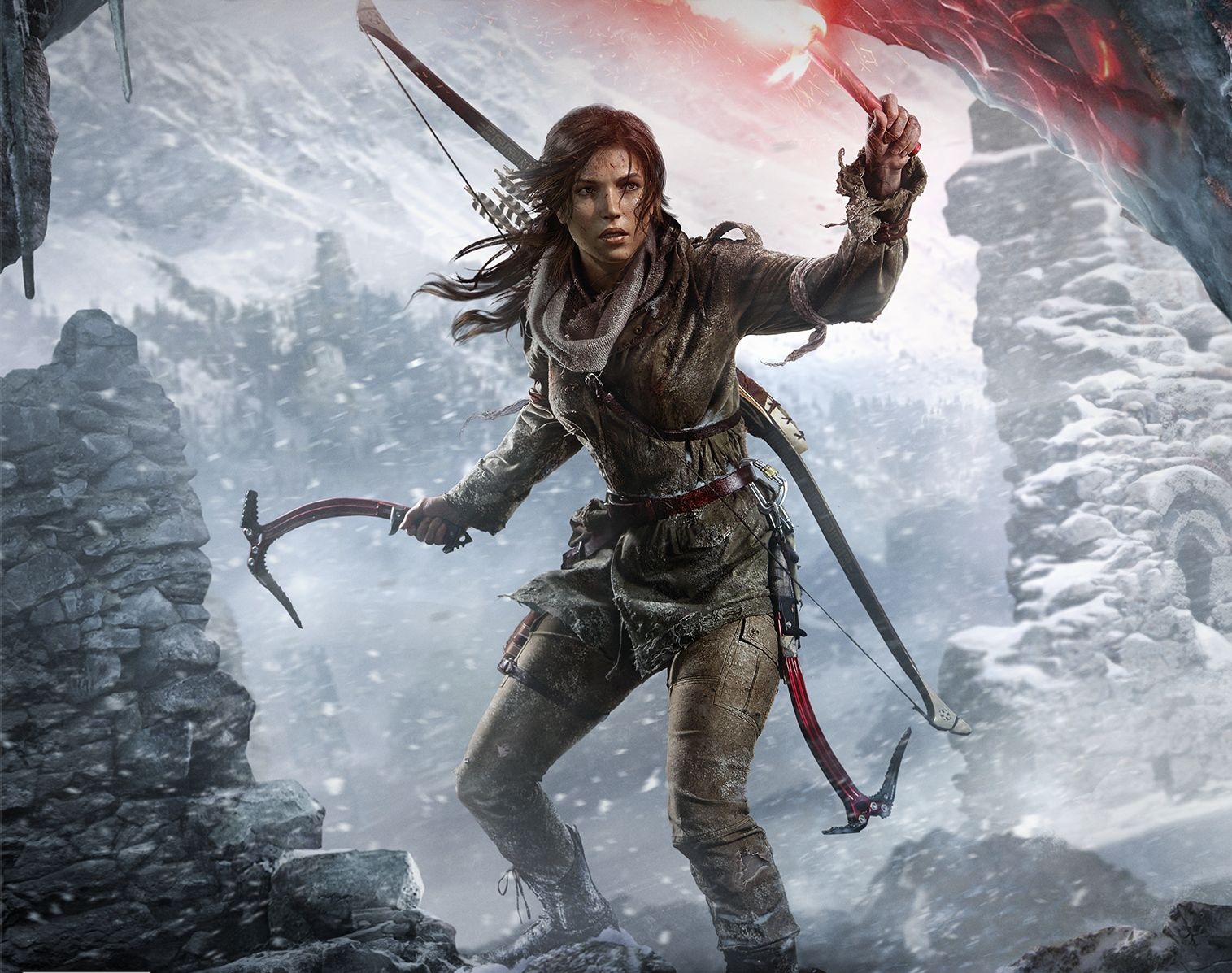Rise Of The Tomb Raider - PS4 owners will have to wait an extra year