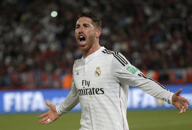Manchester United are chasing Real Madrid's Sergio Ramos  (Picture:Getty)