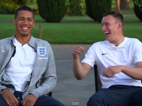 Manchester United's Phil Jones simply doesn't know anything about centre-back partner Chris Smalling