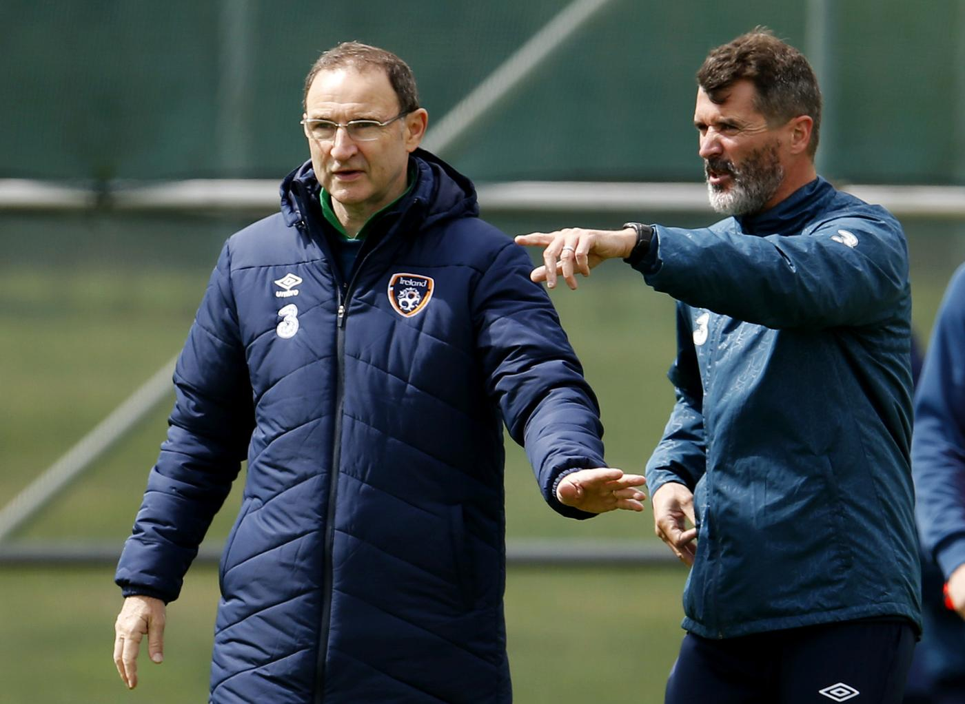 Republic of Ireland manager Martin O'Neill and assistant Roy Keane involved in car crash