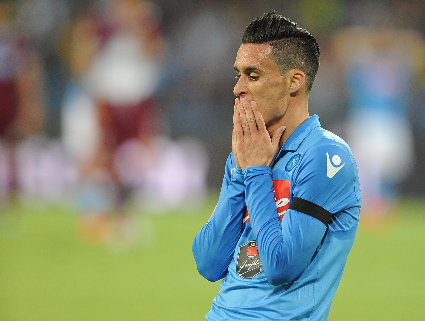 Liverpool plot £7million transfer offer for Napoli striker Jose Callejon