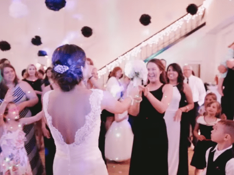 Meet the bride who helped her friend get engaged at her own wedding